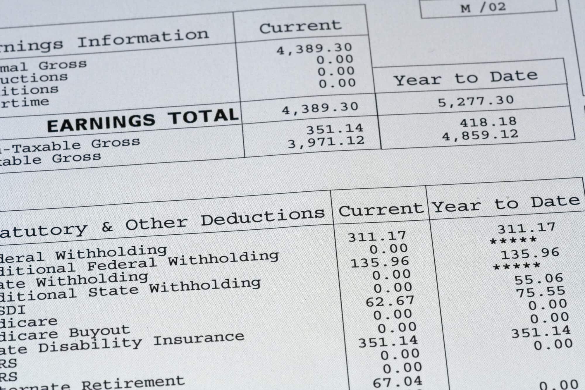 tax classification